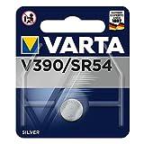 VARTA V390 / SR54 - Pack de 1 Pila (óxido de Plata, 1.55 V, 80 mAh)