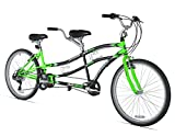 Northwoods Dual Drive Tandem Bike, 26-Inch, Green/Black