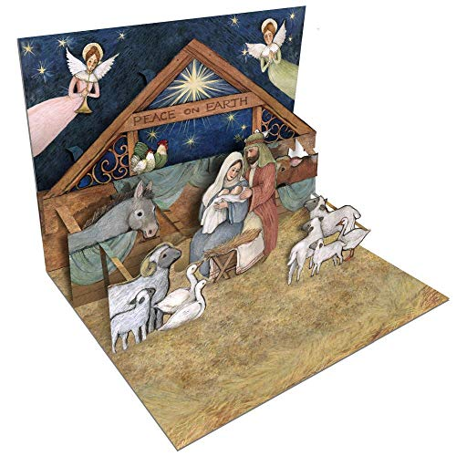 LANG Nativity Pop-Up Christmas Cards (2005102)