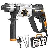 WORX WX339.3 Martillo horizontal 3F 800W 2,5J, 800 W, Negro