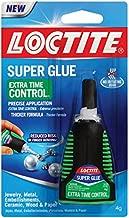Loctite 1503241-6 Extra Time Control Super Glue, 4g Bottles (Case of 6)