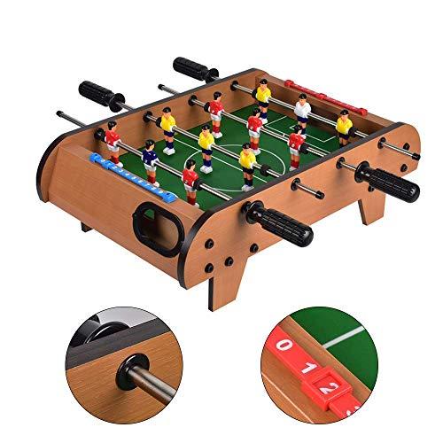 Tafelblad Tafelvoetbalspel Portable Mini Tafelvoetbal Soccer Game Set Voor Volwassenen/Kids