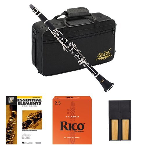 Jean Paul USA CL-300 Student Clarinet with Essential Elements 2000, Rico 'Orange...