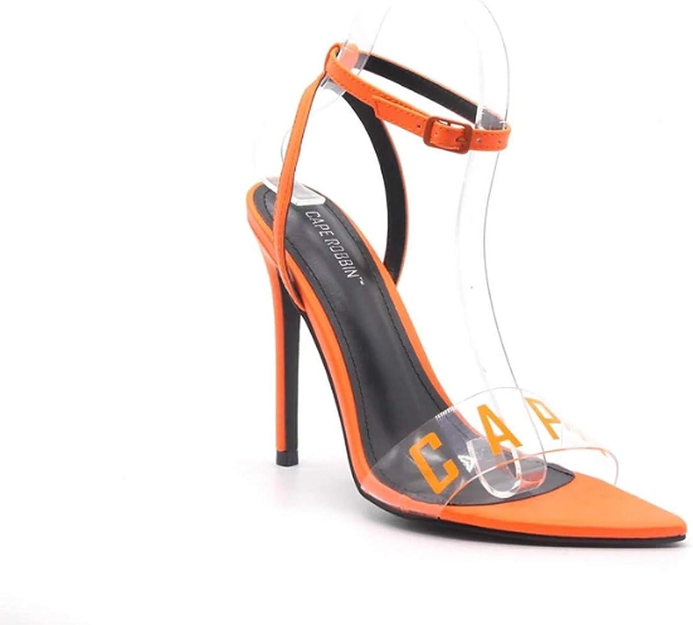 Cape Robbin Livia Stiletto High Heel Ankle Strap Open Toe Sandals