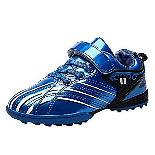 ZAILO Zapatillas de Deporte de Fútbol para Niños Calzado de Entrenamiento Antideslizante y Resistente al Desgaste Profesional Botas de Fútbol Ligero Atletismo Zapatillas de Fútbol Unisex