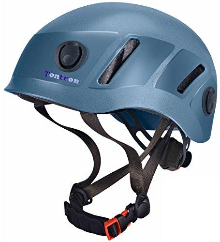 Tontron Climbing Caving Helmet (Blue, Large)