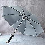 Paraguas Adulto Retro Retro Katana Paraguas Estilo japonés Estilo Retro Boda Sol Paraguas Danza Paraguas (Color : B)