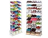 Scarpiera 30 paia Amazing shoe rack salvaspazio scaffale organizer scarpe leggera e trasportabile e facile da montare