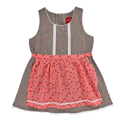 BONDI Mädchen Dirndl Kleid aus Baumwolle (74)