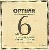 オプティマ(OPTIMA)ギター弦 No6.SNMT スペシャルシルバー・クリアナイロン・ミディアム セット