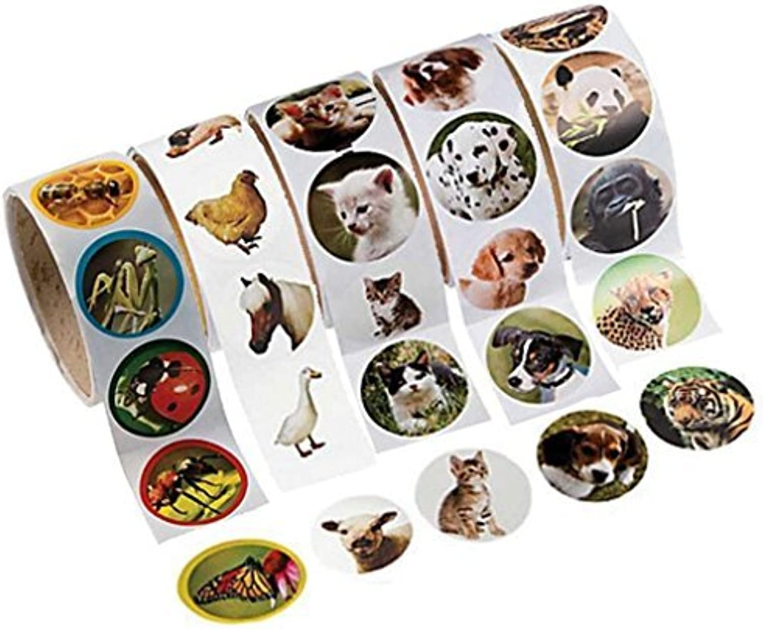 Animal Stickers  Cats, Dogs, Zoo Animals, Farm Animals and Insects by FX