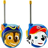 eKids Paw Patrol Chase and Marshall Character 2-Way Radios (Walkie Talkies)