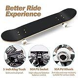 Zoom IMG-2 kovebble skateboard professionale standard completo