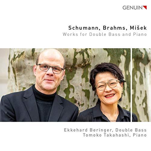 Schumann, Brahms & Misek: Werke für Kontrabass & Klavier