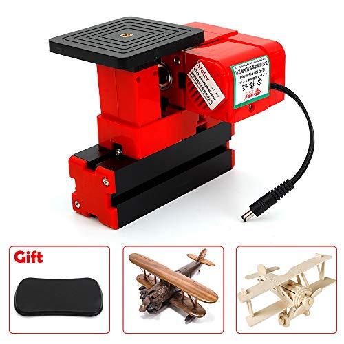 Read About Mini Wood Sawing Machine, Motorized Transformer, Jigsaw Grinder Driller DIY Lathe Woodwor...