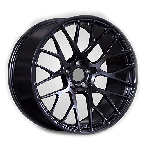GYZD Alu Felgen 21 Zoll Durchfluss geschmiedete Radlegierung Ersatzrad Auto Rad Maschine Aluminium Felge Passend für R21 *9.5J Reifen Geeignet für macan 718 911 1 (Stück),K