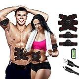 FEIERDUN Update Version 2019 Belt Rechargeable Ultimate Trainer Belt for Men & Women - Portable Abdominal Muscle Trainer Toner Toning Belt