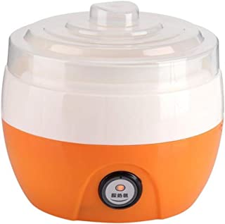 SHYPT 1L Electric Automatic Yogurt Maker Machine Yoghurt DIY Tool Plastic Container Kithchen Appliance 15W (Color : Orange)