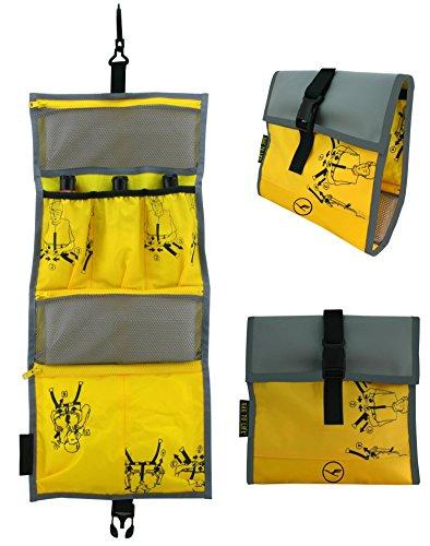 BAG TO LIFE Lufthansa Vielflieger Edition Easy Packing Washbag Hängekulturtasche Badtasche