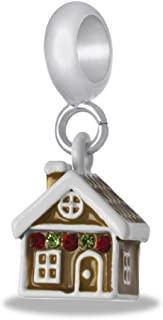 DaVinci Gingerbread House Dangle Bead