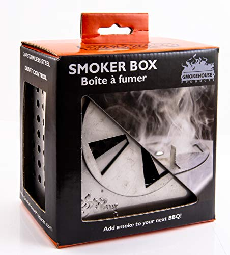 Review Of Smokehouse Products Smoker Box 304 Stainless Steel with Draft Control (9700-000-0000), One...