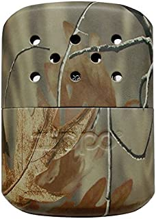 Zippo 40314 Deluxe Realtree Hand Warmer In Blister Pack With Filling Cup & Pouch