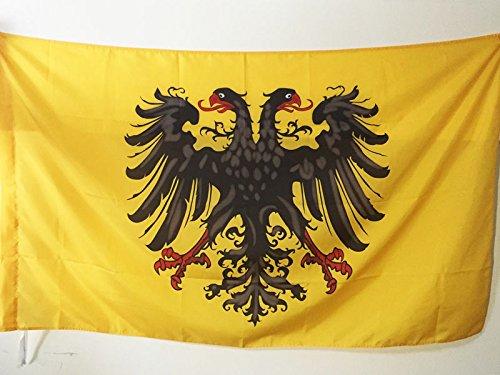 AZ FLAG Bandiera Sacro Imperio Romano GERMÁNICO 962-1806 90x60cm - Bandiera del Imperio ANTIGUO 60 x 90 cm Foro per Asta