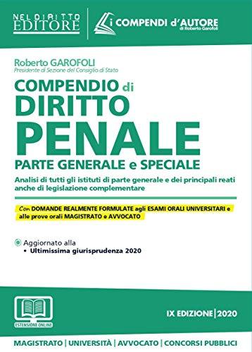 Compendio di diritto penale. Parte generale e speciale. Con aggiornamento onine