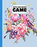 Dots And Boxes Game: Dots & Boxes Activity Book Floral Watercolor Cover - 120 Pages!, Dots and Boxes Game Notebook - Short or Long Games (8.5 x 11 inches) by Knut Burger