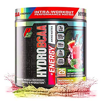 HydroBCAA® +Energy Performance BCAA Powder Performance Amino Matrix Recovery Energy & Hydration  25 Servings Watermelon