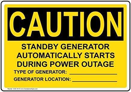 OSHA Voorzichtigheid Elektrische Waarschuwing Info in het Engels Metaal Waarschuwingsborden, Privébord, Tuin Hek Yard Sign 8