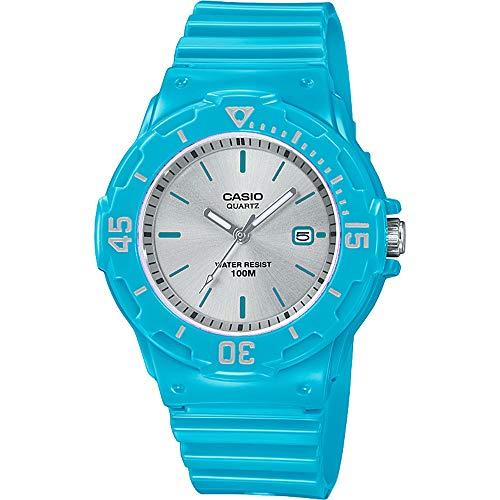 Casio Reloj Analógico para Mujer de Cuarzo con Correa en Resina LRW-200H-2E3VEF