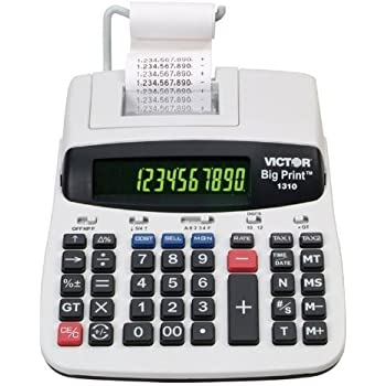 Victor 1310 Big Print™ Commercial Printing Calculator