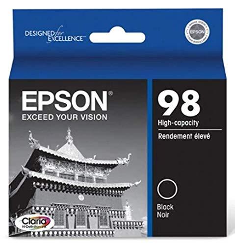 Epson T098120 OEM Ink - (98) Artisan 700 710 725 730 800 810 835 837 Claria Hi-Definition High Capacity Black Ink (550 Yield) Hawaii