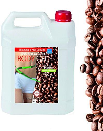 Kaffee & Meeresalgen Gel - Anti Cellulite Aktivierung packung ● Kaffee und Algen Aktivierungs-Packung bleumarine Bretania 1000ml