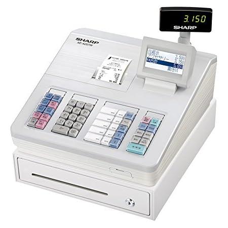 シャープ 電子レジスター ホワイト系 XE-A207W-W