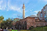 Awttmua Manisa Cami Turquía Puzzles para Adultos 1000 Piezas Regalo De Viaje De Madera Recuerdo