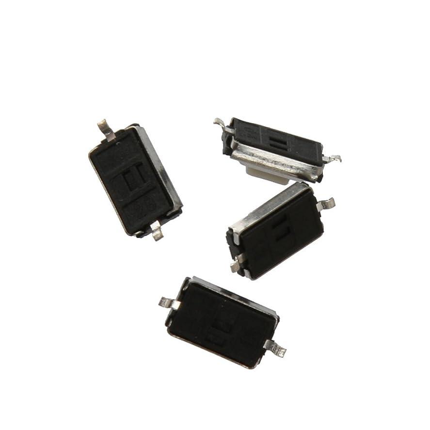 説教と組む額B Baosity 200個 マイクロスイッチ SMD 触覚 押しボタンスイッチ タクトスイッチ 3X6X2.5mm