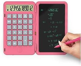 $47 » WXIANG Calculator Desktop Calculator Desktop Type-c USB Charging Port Basic Calculator with Writing Tablet Office Electron...