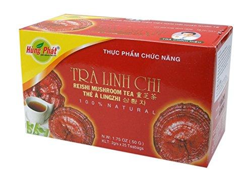 Hung Phat Ling-Zhi Tee - Reishi Pilz 50g Vietnam