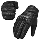 ILM Goatskin Leather Motorcycle Motorbike Powersports Racing...