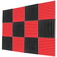 12-Pack Grageta Acoustic Foam Panels 1