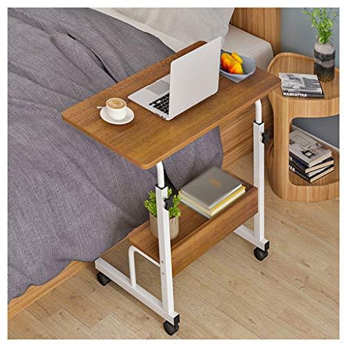 LDG Overbed Tafel Thuis Rolling Mobiele Computer Laptop Bureau Tafel Ziekenhuis Bed Tafel Voor Over Bed Sofa Side Koffie Thee Snack Einde Tafel Met
