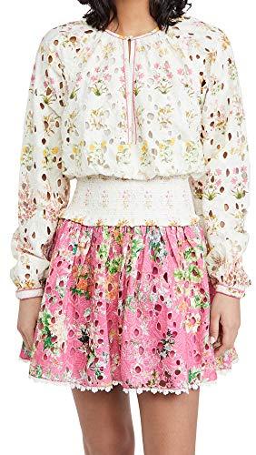 Hemant and Nandita Women's Mini Dress, White, Small