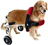 GaoFan Dog Mobility Harness,Dogs Strollers,Dog Wheelchair Dog Mobility Harness Rear Support Adjustable Cart Pet,cat Dog Wheelchair Hind Leg Rehabilitation,M