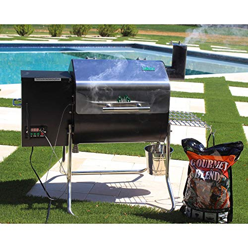 Green Mountain Grills Davy Crockett WiFi Controlled Portable Wood Pellet Grill - DCWF