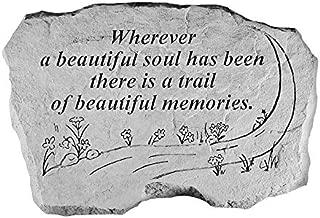 Kay Berry 63220 Wherever A Beautiful Soul… Memorial Garden Stone, Multicolor