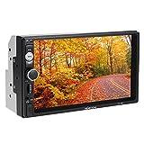 KKmoon Universall 7 Zoll 2 Din Autoradio MP5 Player Multimedia Radio mit HD Touchscreen Unterst¨¹tzt BT USB/TF FM Aux Eingang¡