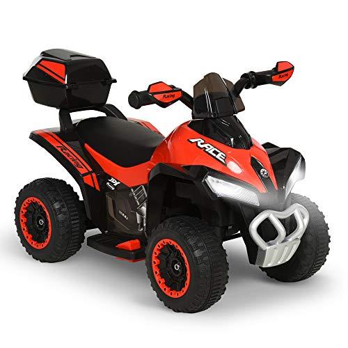 HOMCOM Quad Eléctrico ATV Cuatrimoto...