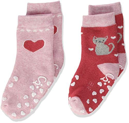Sterntaler Mädchen ABS-Krabbelsöckchen DP Katze für Babys & Kleinkinder